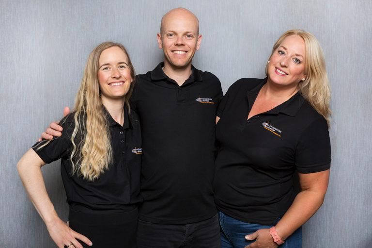 Teamet hos Mjøndalen Kiropraktikk og Helse